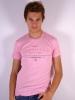 мужская футболка розового цвета; футболки на заказ светящиеся...