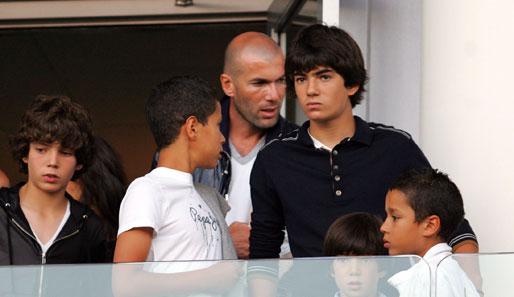 Zinédine Zidane Kinder