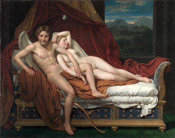 jacques louis david resim 1