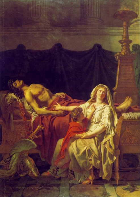 jacques louis david resim 2