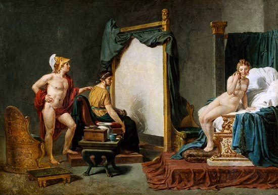 jacques louis david resim 3